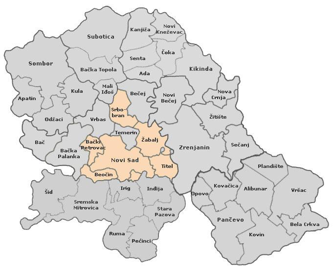 Podrucje Delovanja Dlv Sld Podruznica Novi Sad